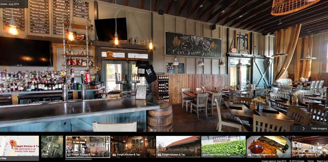 Freight Kitchen And Tap Google 360 Showcase Global Web